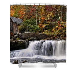 Glade Creek Grist Mill - Photo Shower Curtain