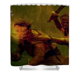 Shower Curtain featuring the photograph Gladiator  by Brian Reaves