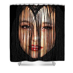 Glare Shower Curtain