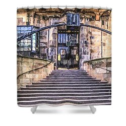 Glasgow School Of Art Shower Curtain