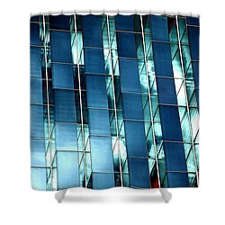 Glass House II Shower Curtain