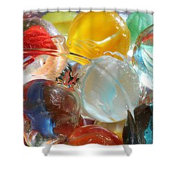 Glass In Glass 4 Shower Curtain