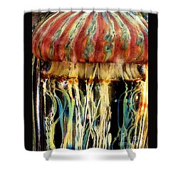 Shower Curtain featuring the photograph Glass No2 by PJ Boylan