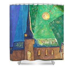 Glemroda Light Of God Shower Curtain by John Williams