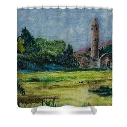 Glendalough Shower Curtain