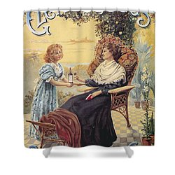 Shower Curtain featuring the photograph Glendenning's Beef And Malt Wine Ad by Gianfranco Weiss