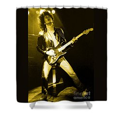 Glenn Tipton Of Judas Priest At The Warfield Theater During British Steel Tour - Unreleased Shower Curtain
