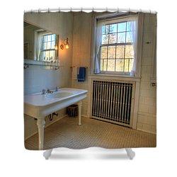 Glensheen Bathroom Duluth Shower Curtain