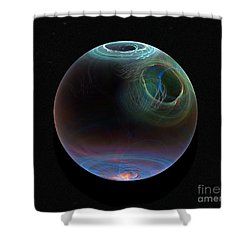 Global Warming Shower Curtain by Peter R Nicholls