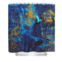 Shower Curtain featuring the painting Gloria by Mary Sullivan