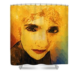 Glorious Crone Shower Curtain by RC deWinter