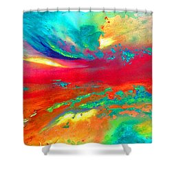 Glorious Day Shower Curtain by Karen Kennedy Chatham