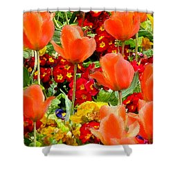 Glorious Garden Shower Curtain by Bruce Nutting
