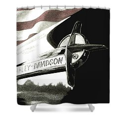 Glory And Power Shower Curtain