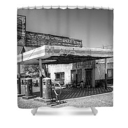 Glory Days Of Route 66 Shower Curtain by Bob Christopher