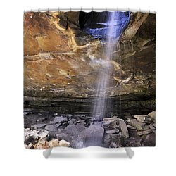 Glory Hole Falls - Arkansas - Waterfall Shower Curtain