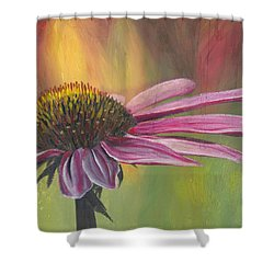 'glory In Bloom' Shower Curtain
