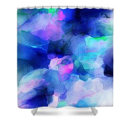 Shower Curtain featuring the digital art Glory Morning by David Lane