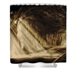 Glory Rays Shower Curtain