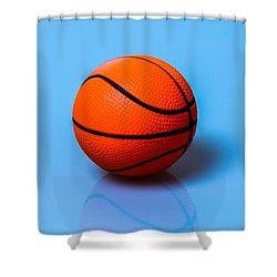 Glory To Basketball Shower Curtain by Alexander Senin