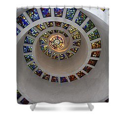 Glory Window Shower Curtain
