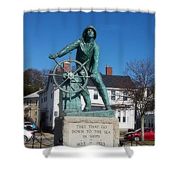 Gloucester Fisherman Shower Curtain