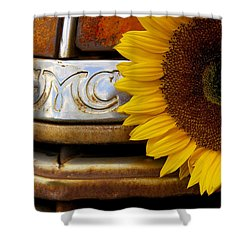 Gmc Sunflower Shower Curtain