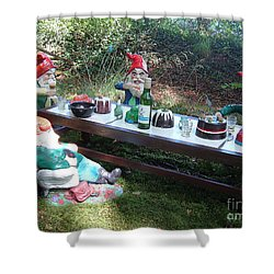 Gnome Cooking Shower Curtain
