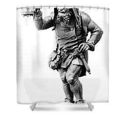 Gnome, Legendary Creature Shower Curtain by Photo Researchers