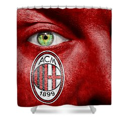 Go Ac Milan Shower Curtain by Semmick Photo