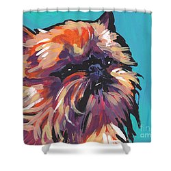 Go Griff Shower Curtain by Lea S