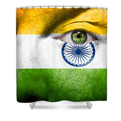 Go India Shower Curtain by Semmick Photo