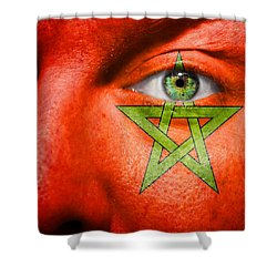 Go Morocco Shower Curtain by Semmick Photo