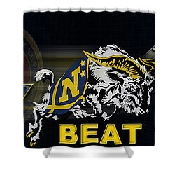 Go Navy Beat Army Shower Curtain
