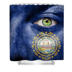 Go New Hampshire Shower Curtain by Semmick Photo