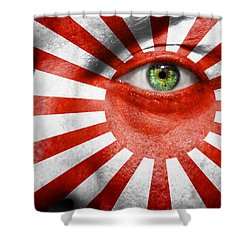 Go Rising Sun Shower Curtain by Semmick Photo