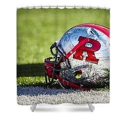 Go Rutgers Shower Curtain