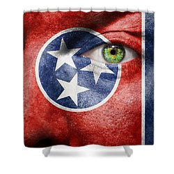Go Tennessee Shower Curtain