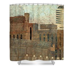 Go  Minnesota Twins Shower Curtain