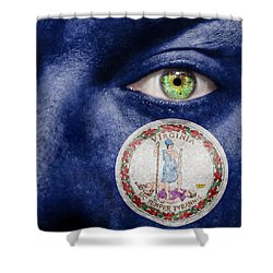 Go Virginia Shower Curtain by Semmick Photo