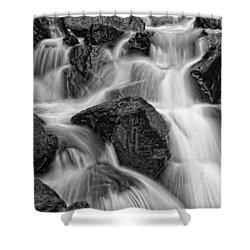 Go With The Flow Shower Curtain by Betty Depee