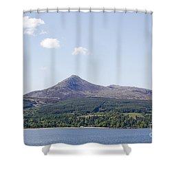 Goat Fell Isle Of Arran Scotland Shower Curtain