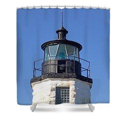 Goat Island Lighthouse Shower Curtain