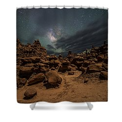 Goblins Realm Shower Curtain