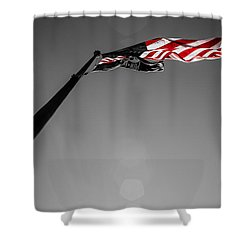 God Bless America Shower Curtain by James Drake