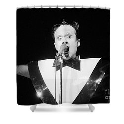 Shower Curtain featuring the photograph God Klaus Nomi by Steven Macanka