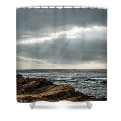 God Rays Shower Curtain by George Buxbaum