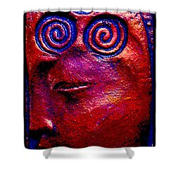 Shower Curtain featuring the photograph Goddess Dreaming by Susanne Still