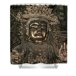 Goddess Of Compassion Shower Curtain