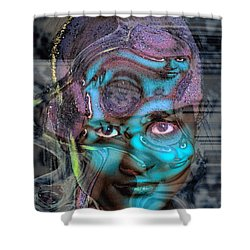 Shower Curtain featuring the photograph Goddess Of Love And Confusion by Richard Thomas